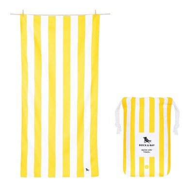 Πετσέτα Θαλάσσης Quickdry Cabana - Boracay Yellow