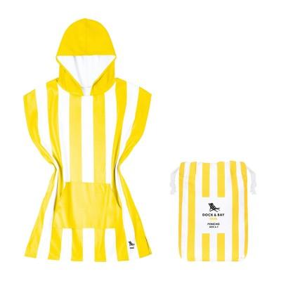 Παιδικό Πόντσο XS Quickdry - Boracay Yellow