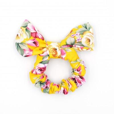 Scrunchies Bunny Yellow Garden