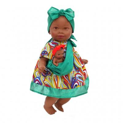 Κούκλα Maria With Green Bow