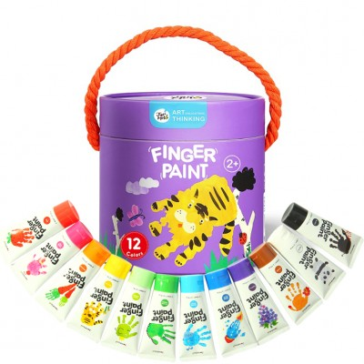 Δακτυλομπογιές Finger Paint 12τεμ.