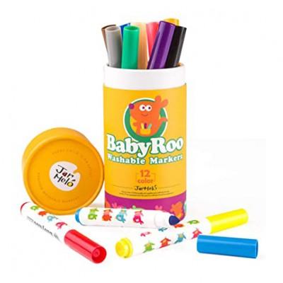 Μαρκαδόροι Baby Roo Markers 12τεμ.