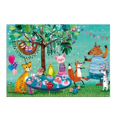 Ευχετήρια Κάρτα Animal Party
