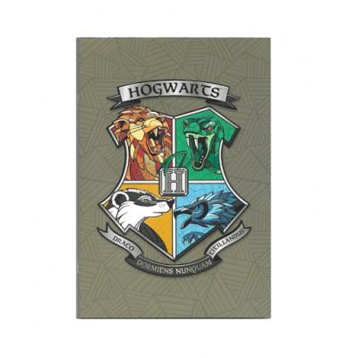 Τετράδιο Καρφίτσα Harry Potter Hogwarts