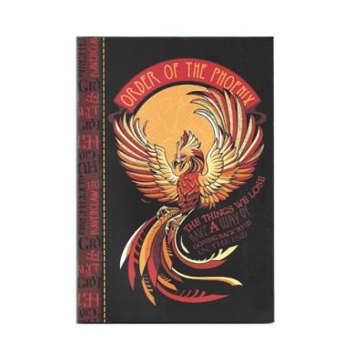 Τετράδιο Καρφίτσα Harry Potter Phoenix