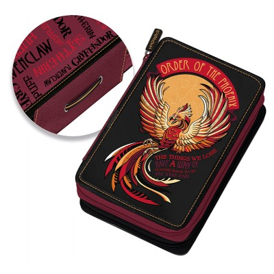 Κασετίνα Διπλή Γεμάτη Harry Potter Phoenix