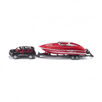 Μινιατούρα Αυτοκίνητο Με Σκάφος