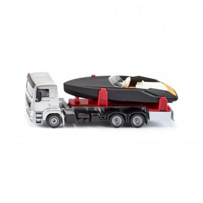 Μινιατούρα Φορτηγό MAN Με Σκάφος
