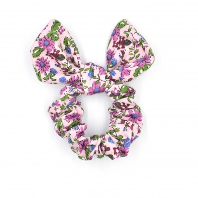 Scrunchies Bunny Pink Floral