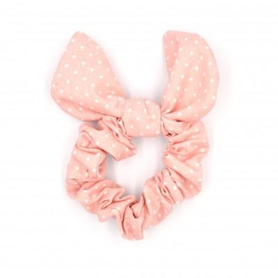 Scrunchies Bunny Pink Spotty