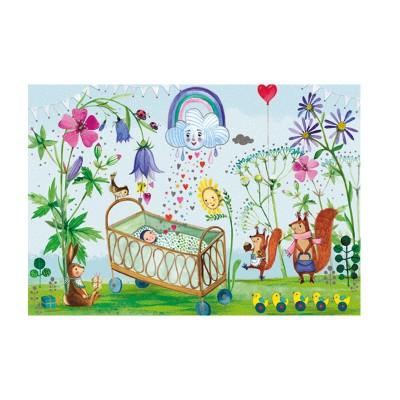Ευχετήρια Κάρτα Baby In The Forest