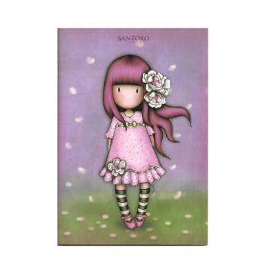 Τετράδιο Καρφίτσα Gorjuss Cherry Blossom