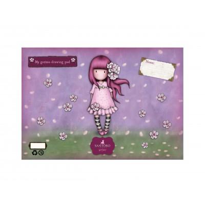Μπλοκ Ζωγραφικής Gorjuss Cherry Blossom