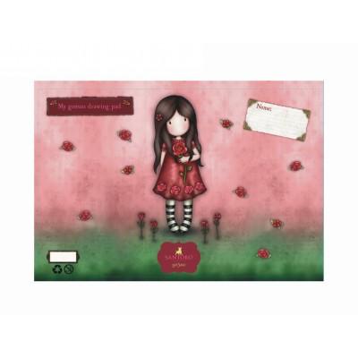 Μπλοκ Ζωγραφικής Gorjuss Single Rose