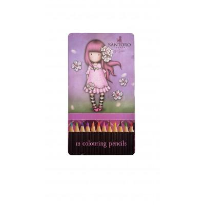 Ξυλομπογιές Gorjuss Cherry Blossom 12τεμ.