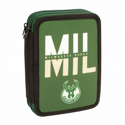 Κασετίνα Διπλή Γεμάτη Milwaukee Bucks 21