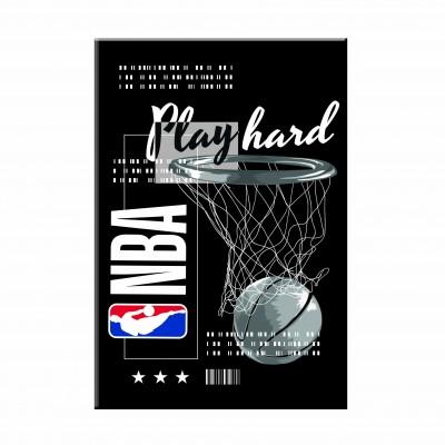 Τετράδιο Καρφίτσα NBA Play Hard