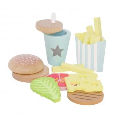 Ξύλινο Burger Meal