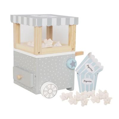 Ξύλινο Popcorn Mini Trolley