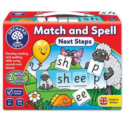 Match And Spell Next Steps