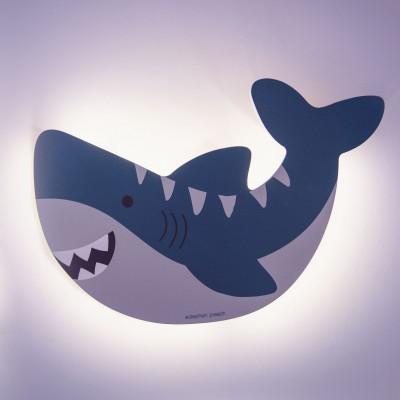 Ξύλινο Φωτιστικό Νυκτός Καρχαρίας