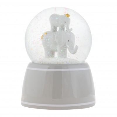 Φωτιστικό Νυκτός Χιονόμπαλα Ελέφαντας