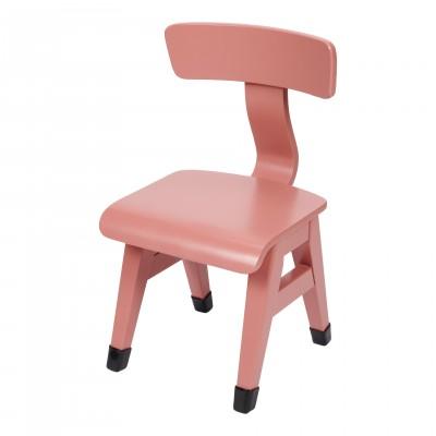 Ξύλινη Παιδική Καρέκλα Pink