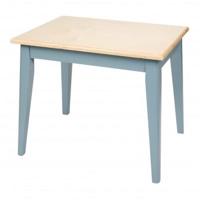 Ξύλινο Παιδικό Τραπεζάκι Blue