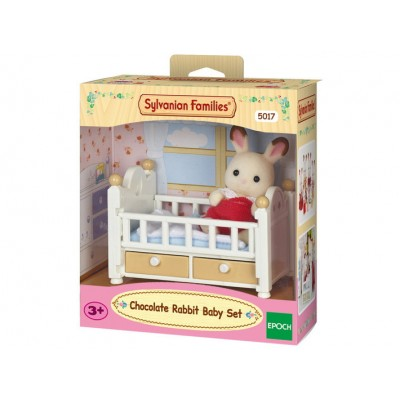 Chocolate Rabbit Baby Set