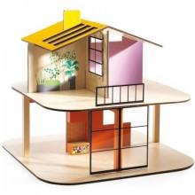 Κουκλόσπιτο Το Σπίτι Με Τα Χρώματα