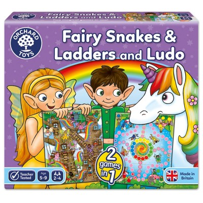 Fairy Snakes & Ladders and Ludo