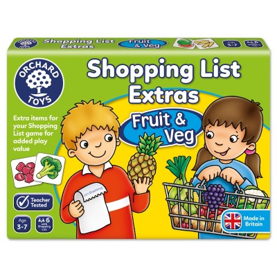 Shopping List Extras Fruit & Veg