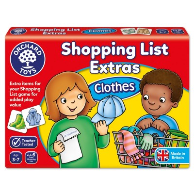 Shopping List Extras Clothes